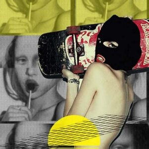 woman-wearing-balaclava-holding-skateboard-secret-sessions-ibiza